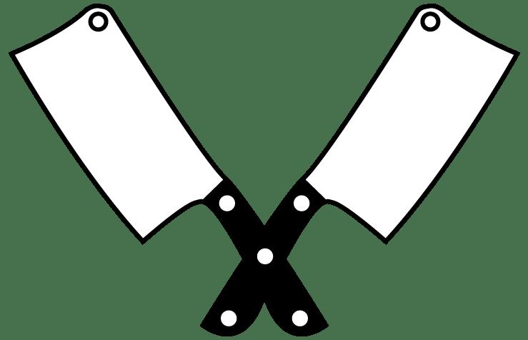 reed butchers knife logo